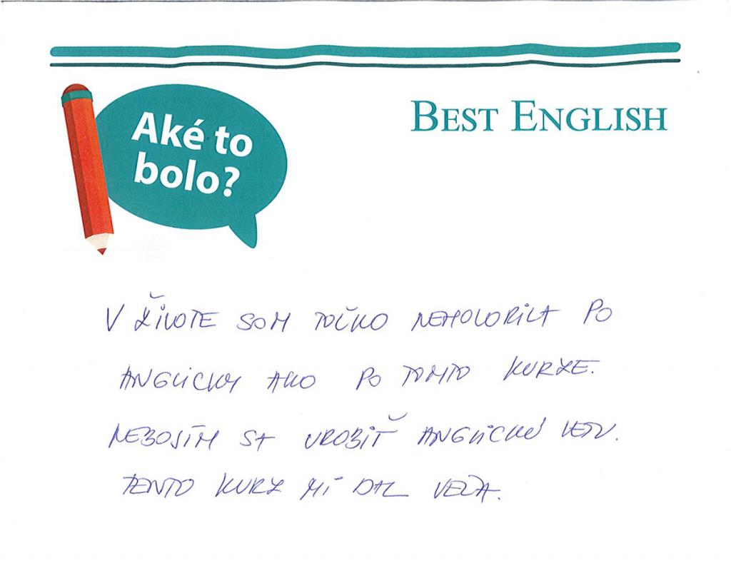 čo o nás povedali študenti best english bratislava recenzie