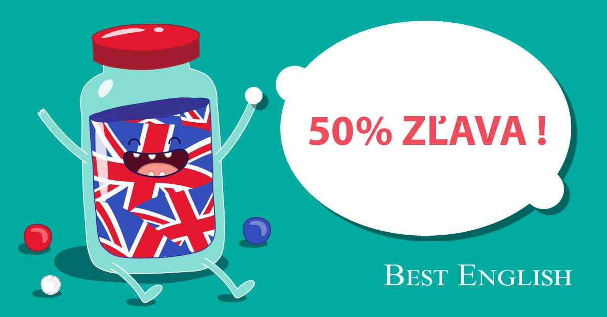 zľava na kurz Best English Bratislava