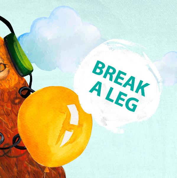 zlom väz! break a leg fráza týždňa jazyková škola Best English Bratislava