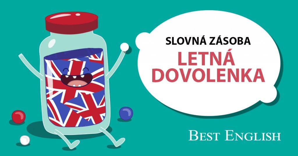 SUMMER HOLIDAY slovná zásoba jazyková škola Best English Bratislava