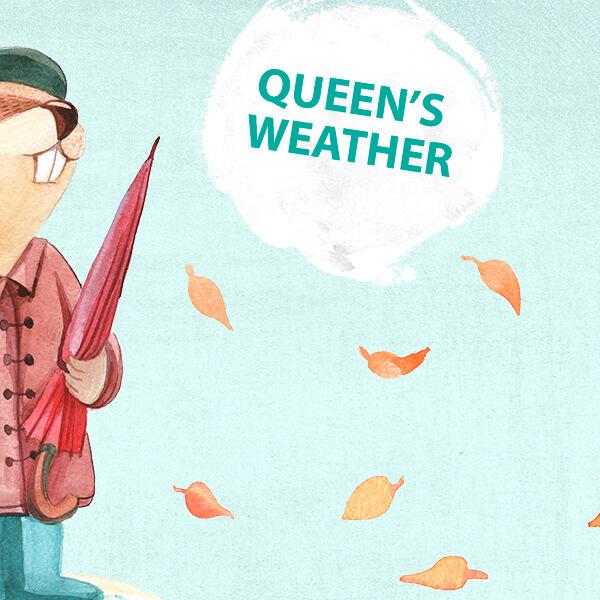 fráza týždňa - krásne počasie en